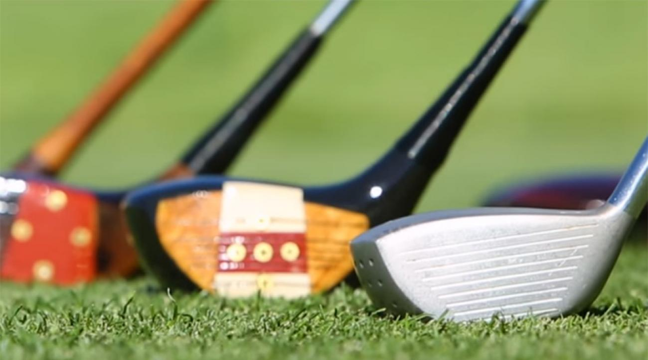 The PGA Tour had several pros try out some vintage sticks to see if they could still cut it on the course.
