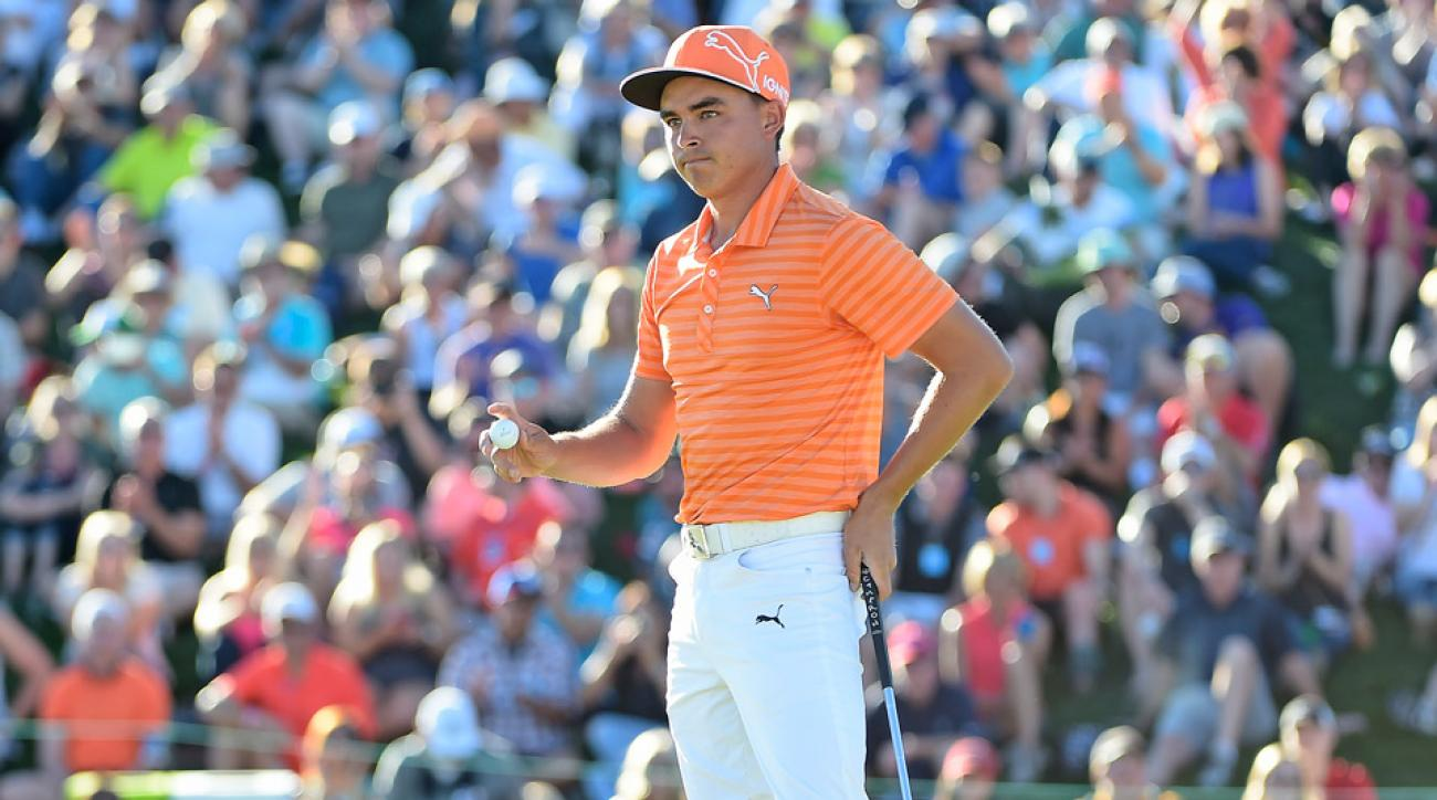 Rickie Fowler lost the 2016 Waste Management Phoenix Open in a playoff.