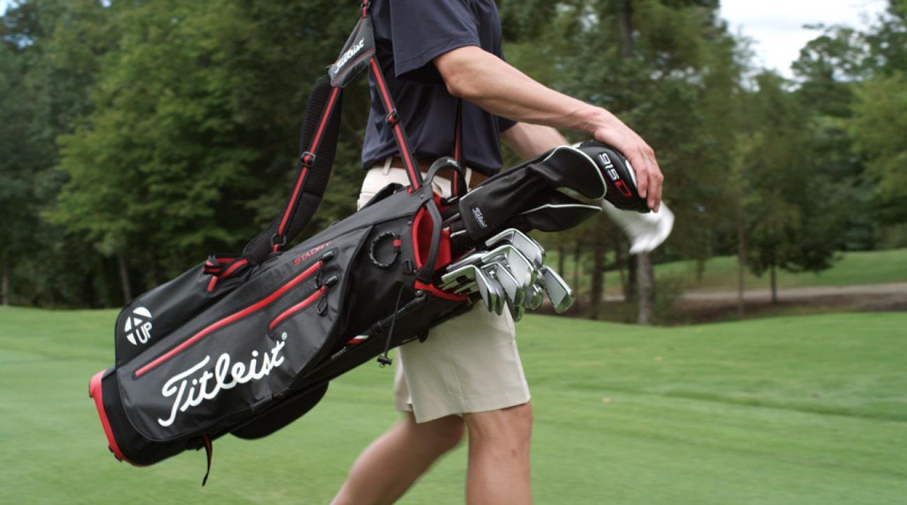 titleist 4up stadry stand golf bag. Black Bedroom Furniture Sets. Home Design Ideas