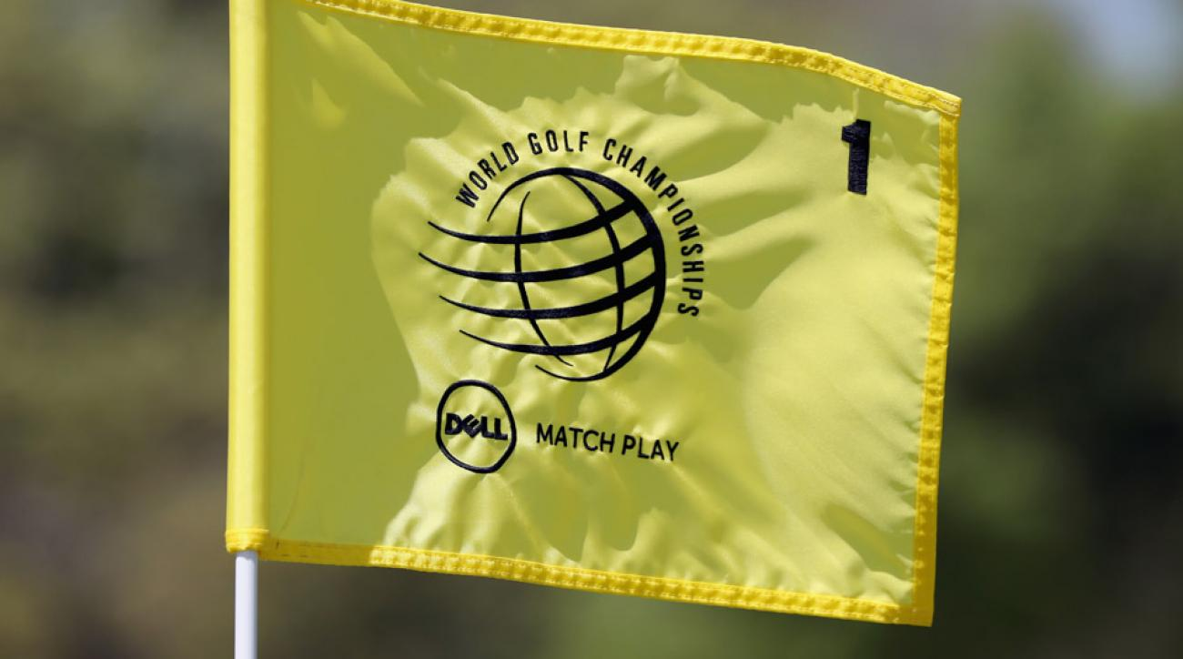 The WGC-Dell Match Play Championship is being played at the Austin Country Club in Austin, Texas.