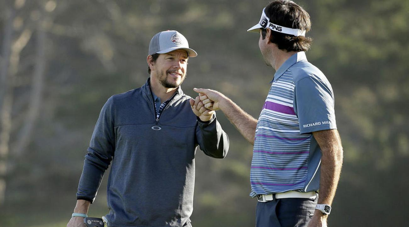 Mark Walhberg and Bubba Watson teamed up at this year's Pebble Beach Pro-Am.