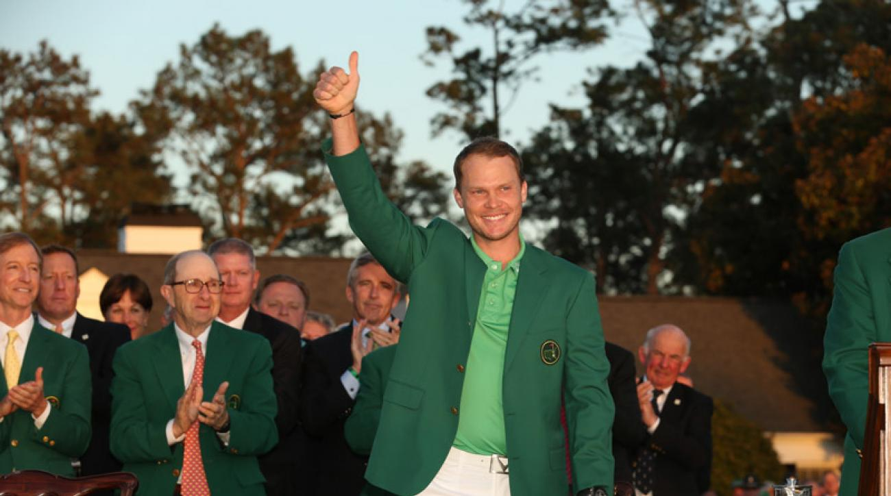 Danny Willett, Green jacket, 2016 Masters