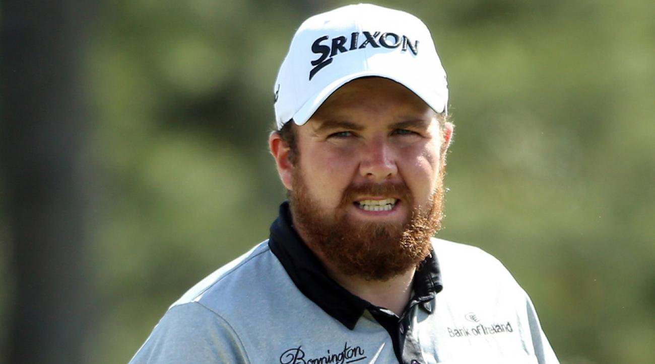 Shane Lowry aced the par-3 16th hole at the Masters on Sunday.