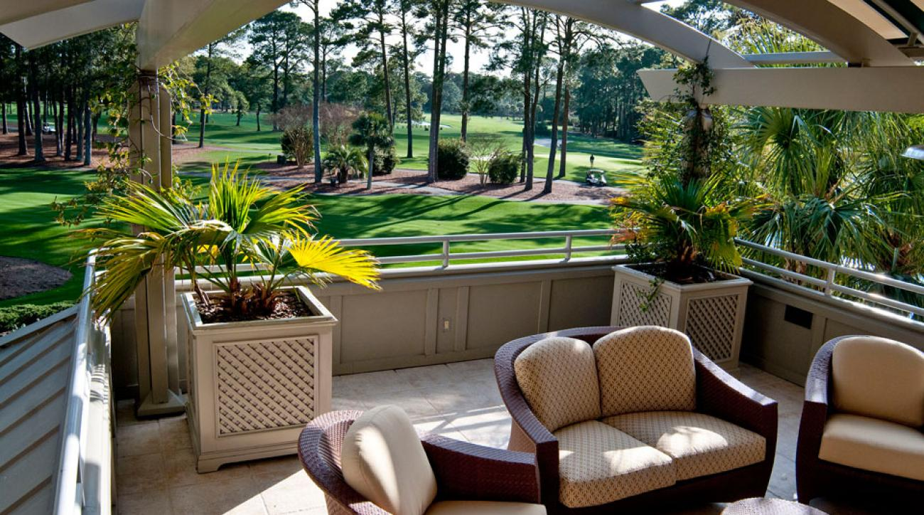 The Highlander Suite opens right onto one of the PGA Tour's most storied courses.