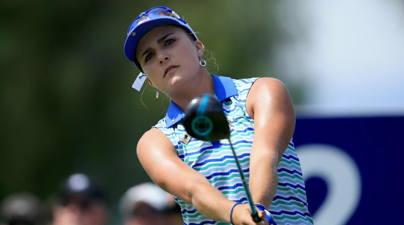 Lexi Thompson during the 2016 LPGA LOTTE Championship.