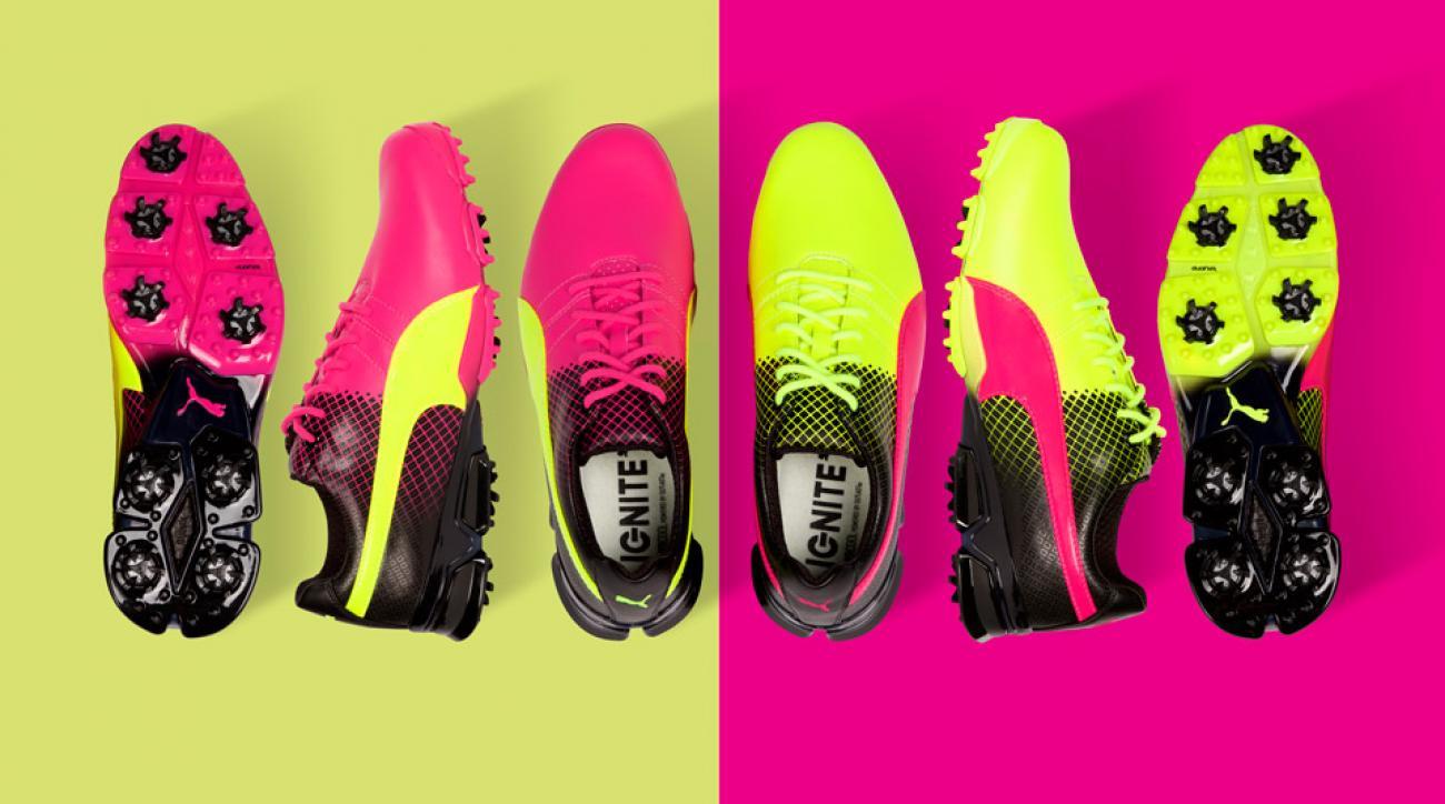 Puma's new TITANTOUR Tricks golf shoes.
