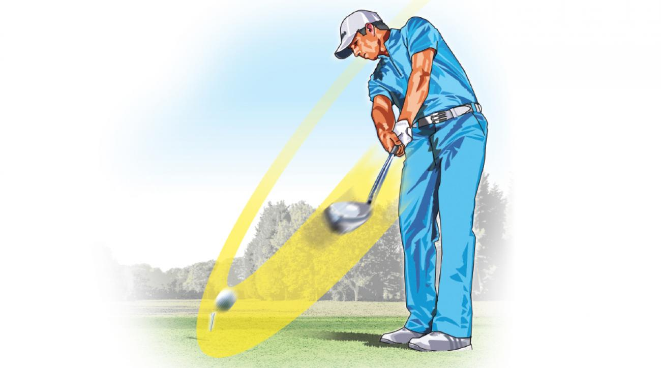 Tour players like Sergio Garcia develop much of their driving power by producing a huge amount of lag in their swing.