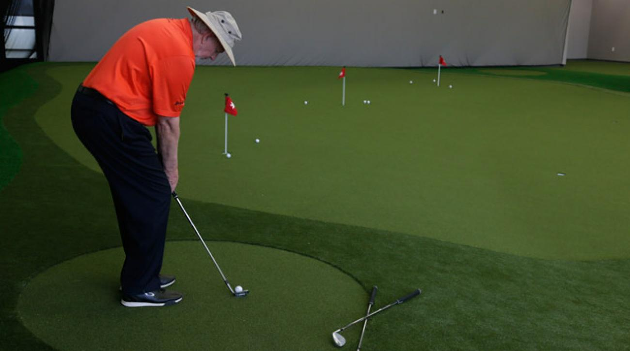 When practicing low-running chips, this simple swing aid can help you minimize unwanted wrist hinge.