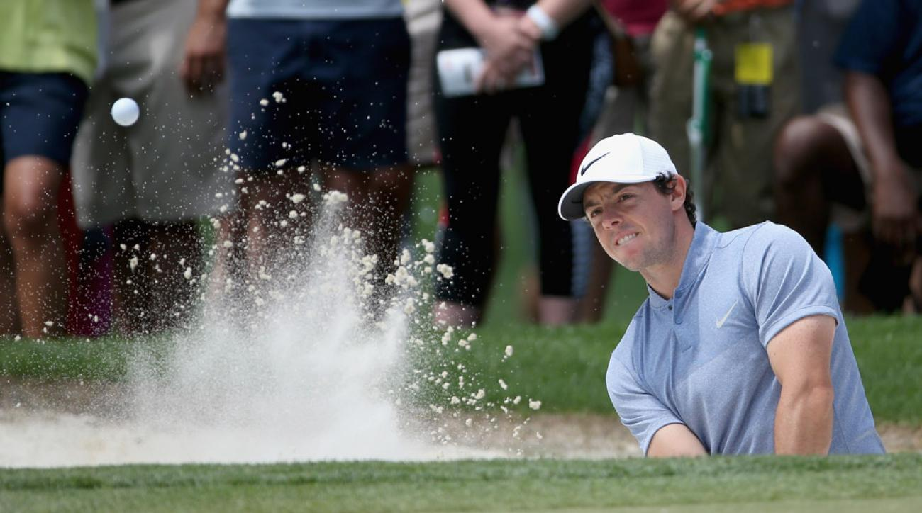 Rory McIlroy shot a one-over 73 on Saturday.