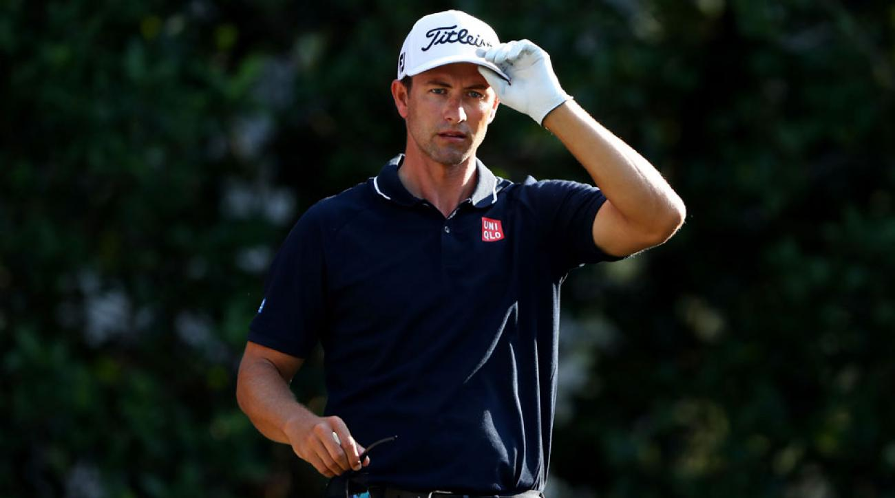Adam Scott said the greens were as fast as they could be at TPC Sawgrass on Saturday and still be playable.