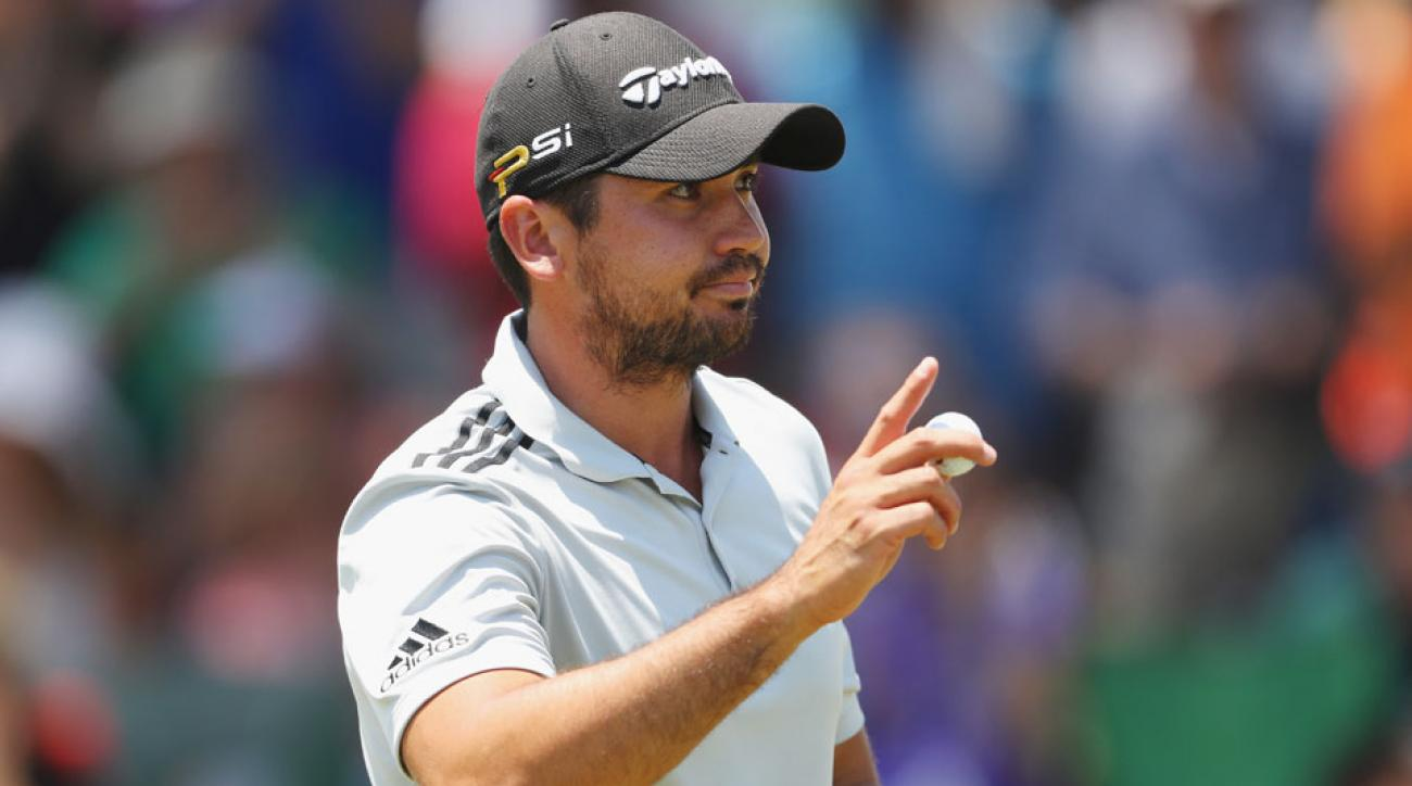 Jason Day tied the course record with an opening-round 63 at the Players on Thursday.