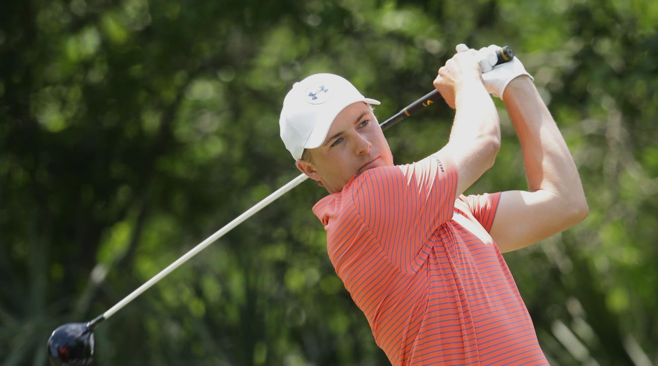 Jordan Spieth is known for his self-talk and letting his frustration out on the course.