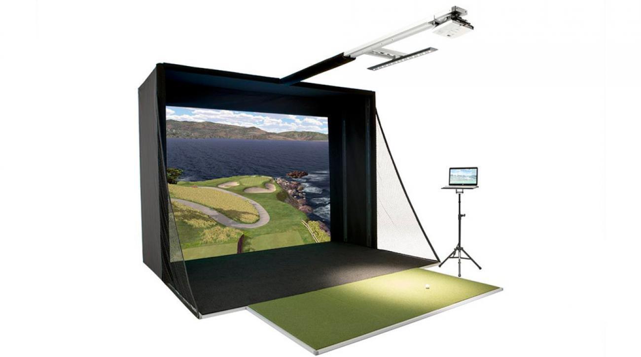 The Full Swing Golf S2 Simulator starts at $19,900.