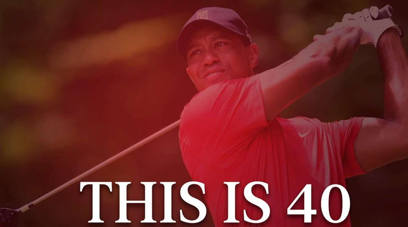 Tiger Woods Shares How He Celebrated His 40th Birthday | GOLF.com
