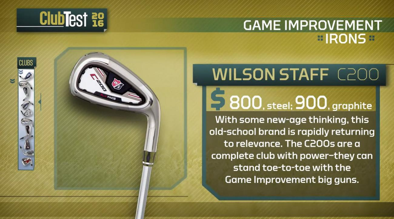 Wilson Staff C200 Irons Review: Iron Review for Best Irons ...