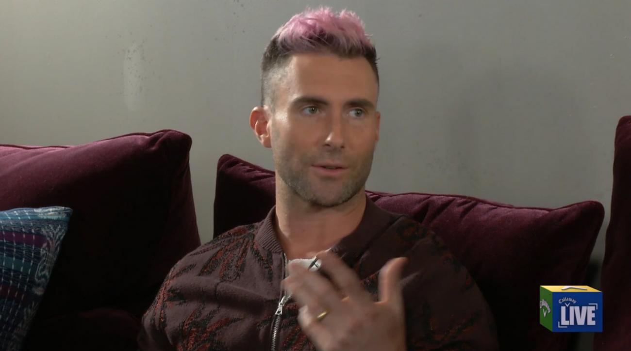 Callaway Corner Adam Levine On Learning Golf From Hank