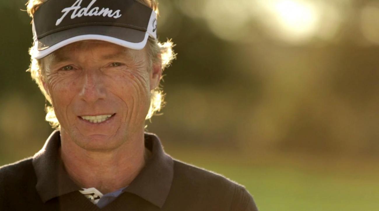Langer leads halfway through Senior PGA on Trump course