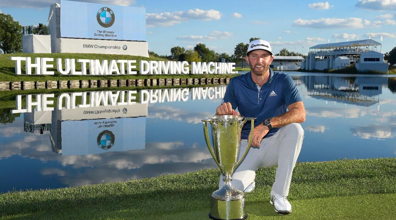 Dustin Johnson Wins For Third Time In 2016 At Bmw