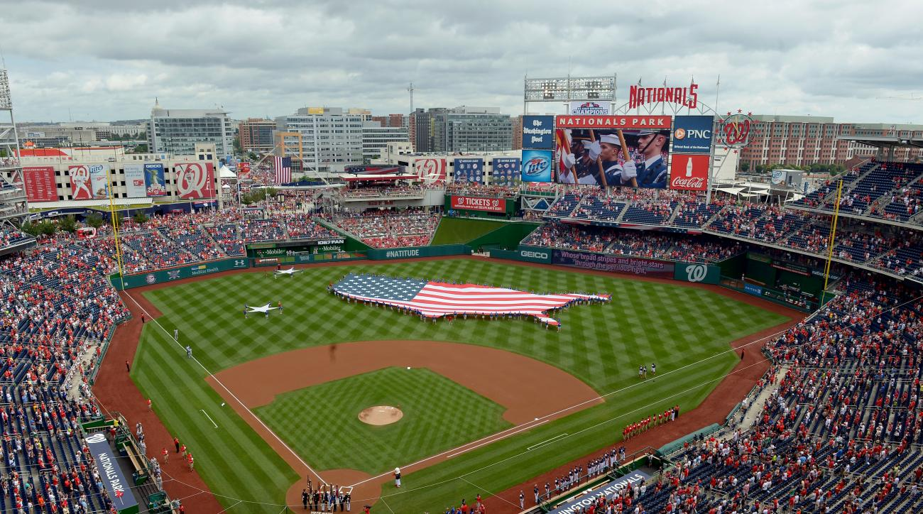 Nationals Park, which was opened in Southeast Washington D.C., in 2008, offers views of historic landmarks like the Capitol or the Washington Monument.