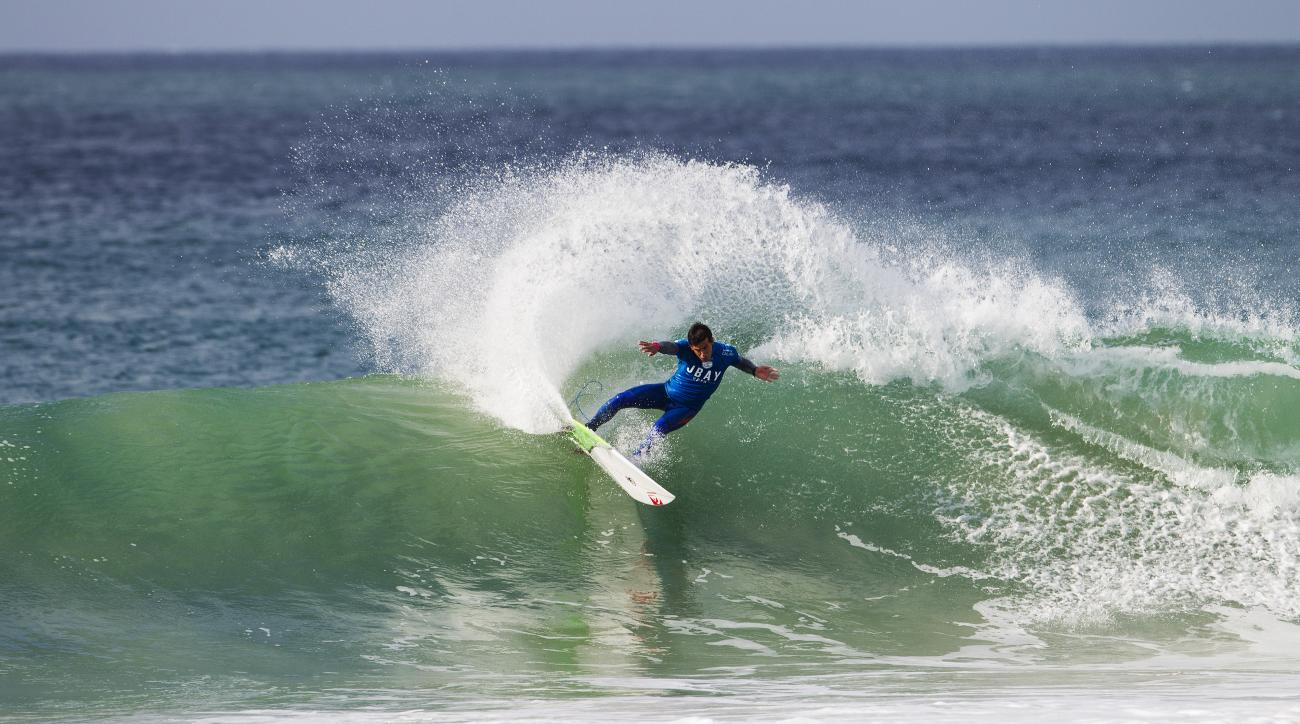 Jeremy Flores at the J-Bay Open in Jeffrey's Bay, South Africa.