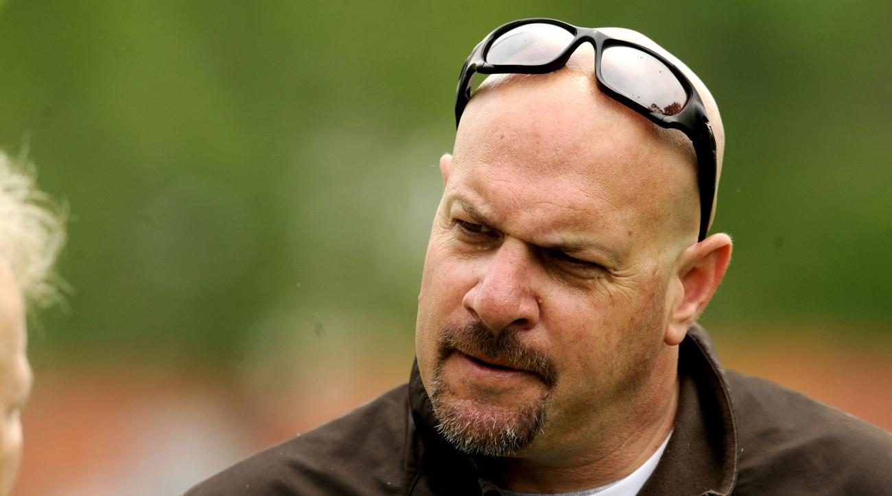 New Browns head coach Mike Pettine will have a little less offensive line depth to start the season.