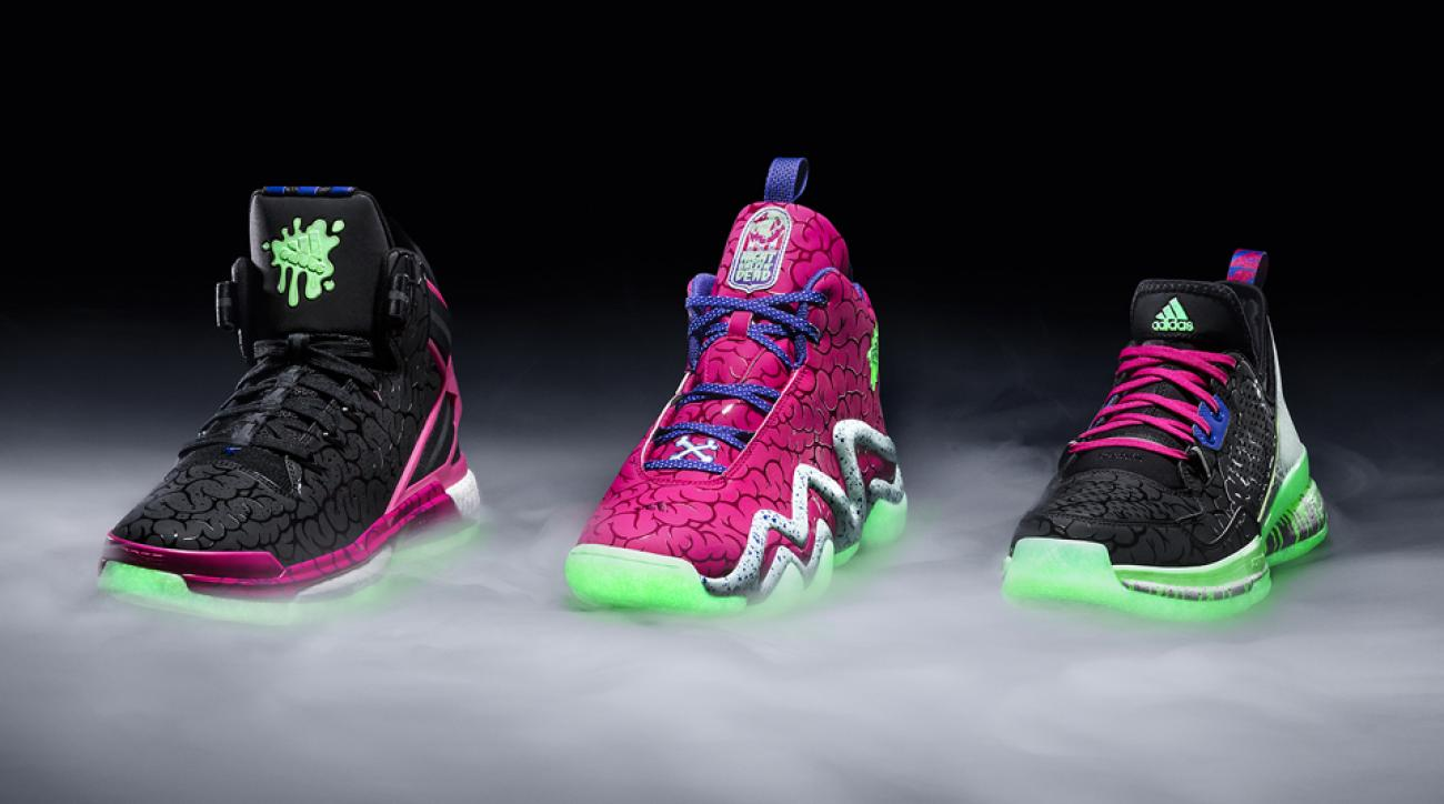 new concept f5aa9 051f3 Kicks and Colors Adidas Halloween style for D Rose 6, D Lillard 1, more