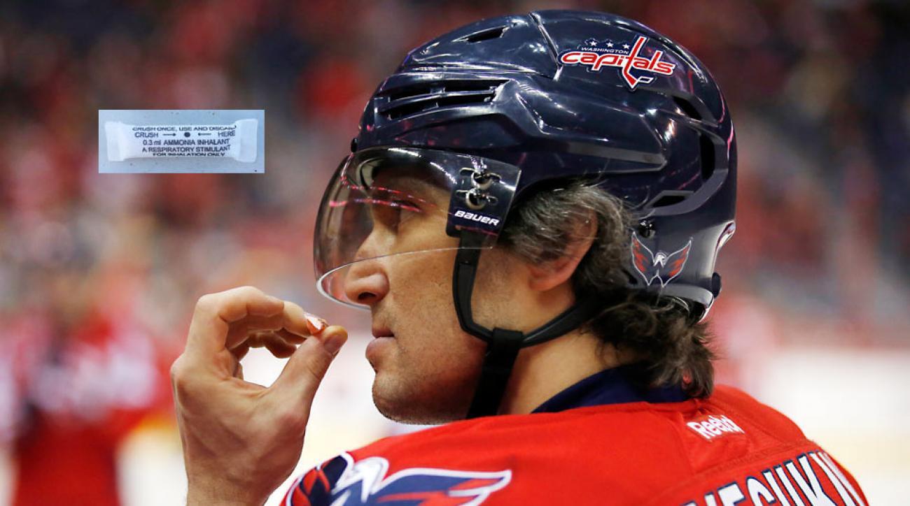 Smelling salts a pregame jolt for NHL players, coaches | SI com