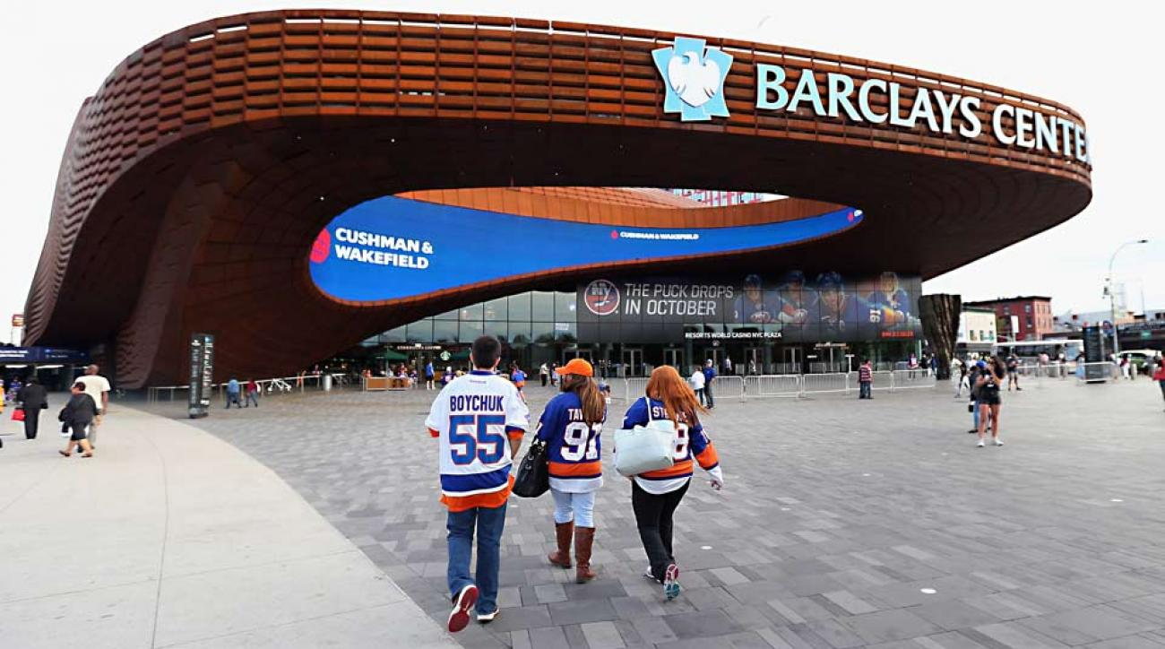 New York Islanders Thrilled By Gleaming New Barclays