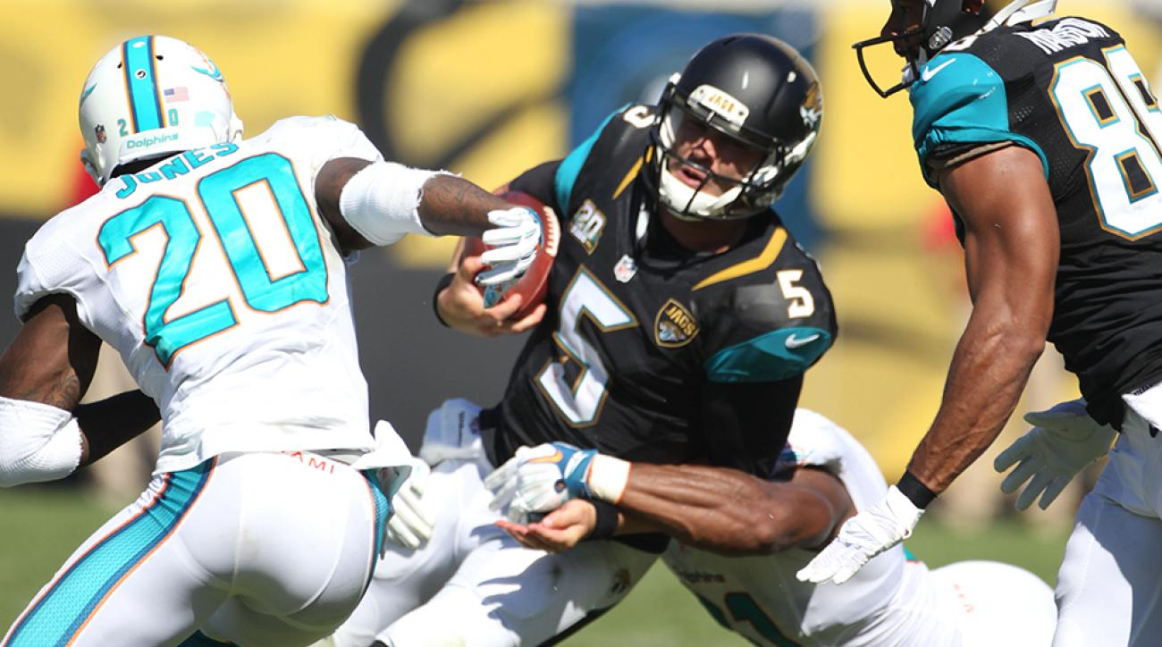 NFL Week 9: Comparing Blake Bortles and Derek Carr through first half of rookie season