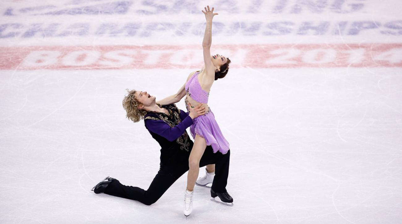 A new event gives Americans like Charlie White and Meryl Davis a chance to bring home two medals rather than the traditional one.