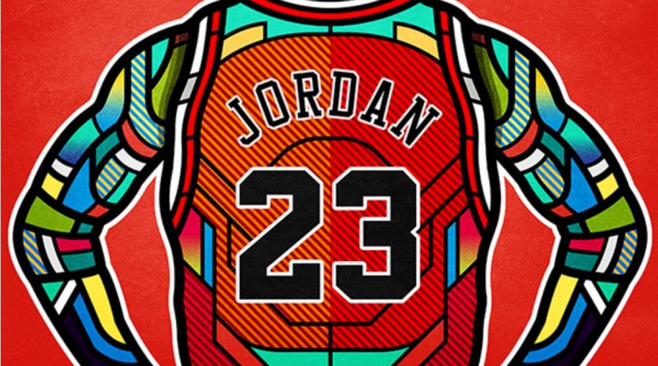 Michael Jordan Magic Johnson Charles Barkley Get