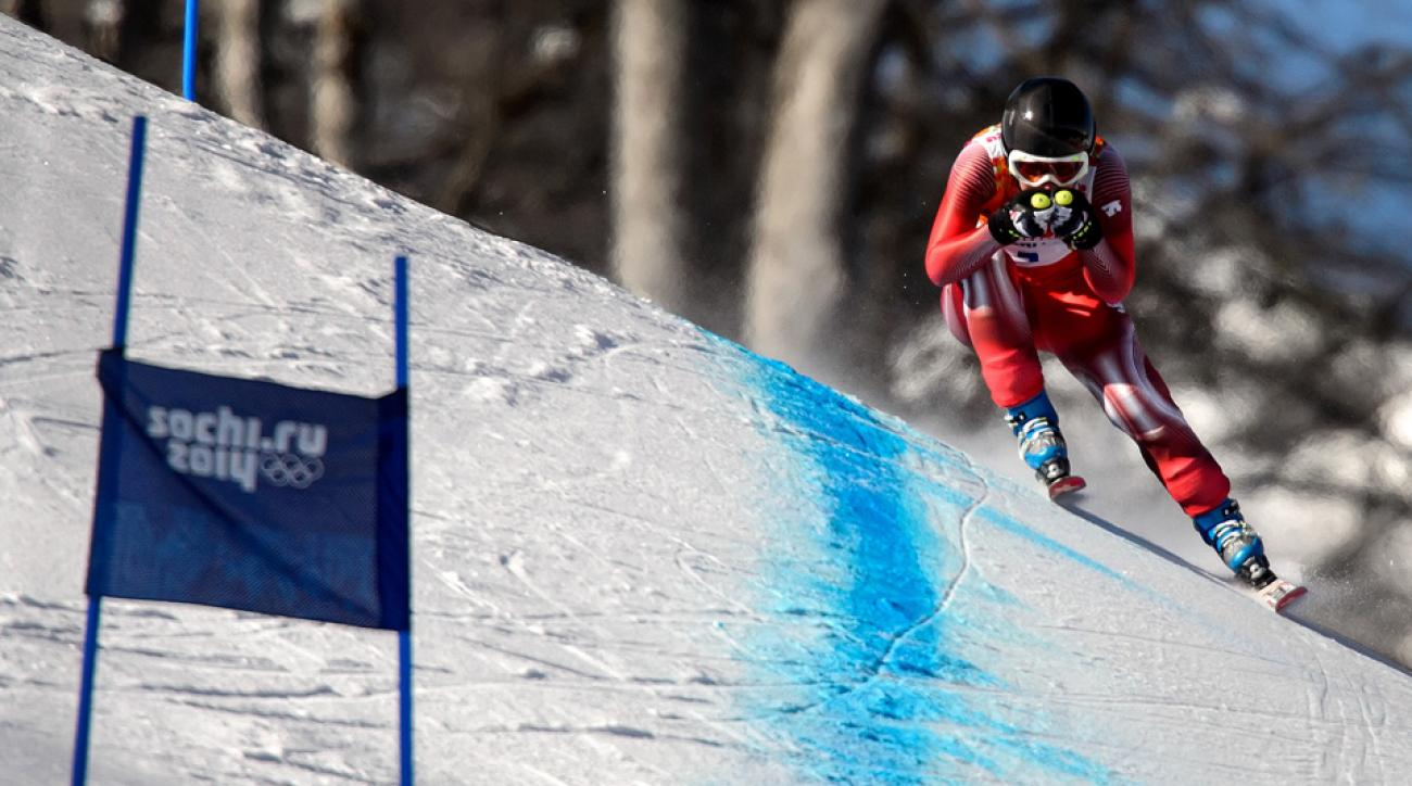 Swiss skier Fabienne Suter has won four World Cup races in the past.