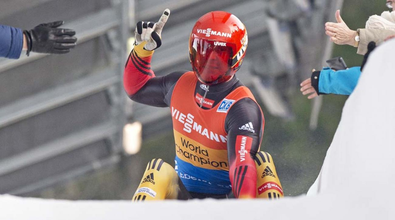 Germany's Felix Loch is the luge favorite heading into the Sochi Olympic Games.