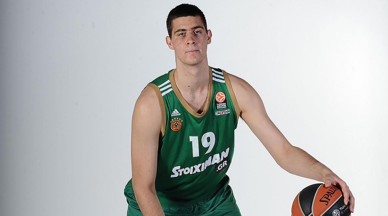 buy online abc82 2c006 Greece's Georgios Papagiannis could be huge for college ...