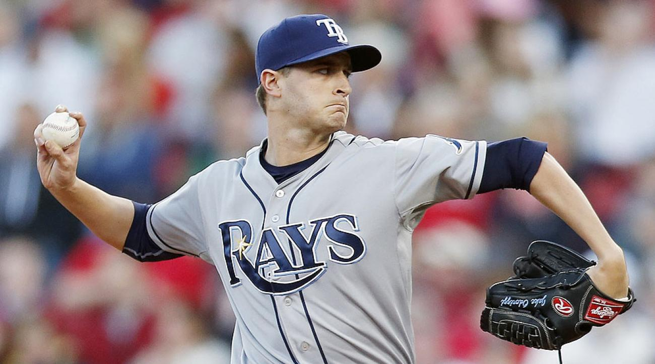 While his numbers are down, Jake Odorizzi's matchup against the Astros makes him a must-add starter.
