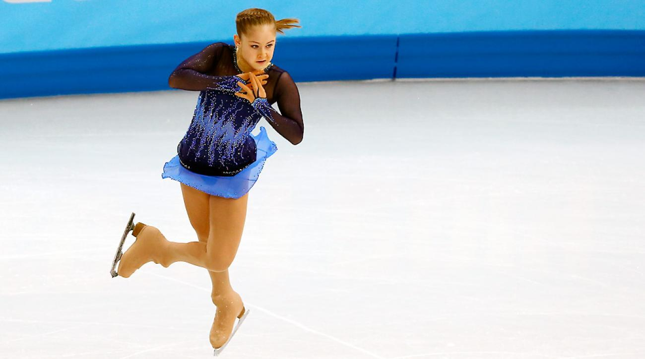 Julia Lipnitskaya was the star of the ladies figure skating team short program. Can she deliver again in the free skate Sunday?