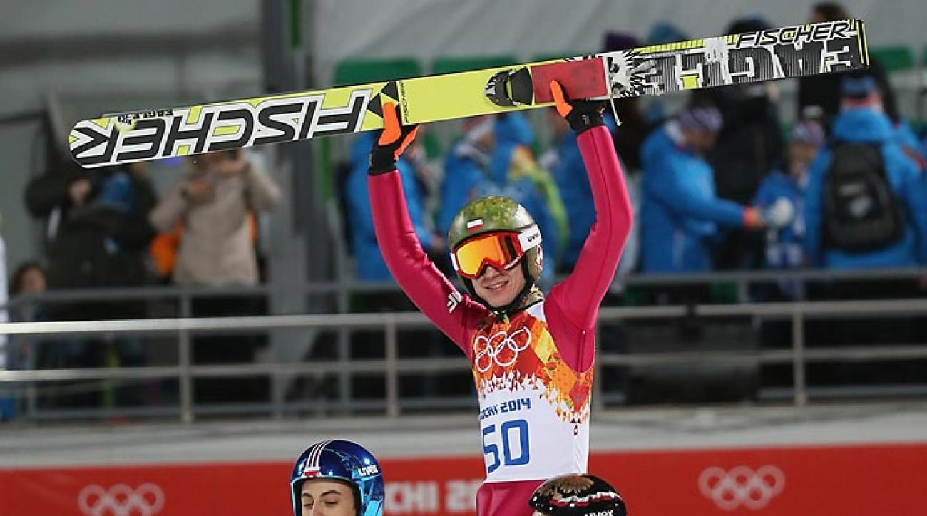 Polish Olympian Kamil Stoch looks like a gold medal favorite in ski jumping.