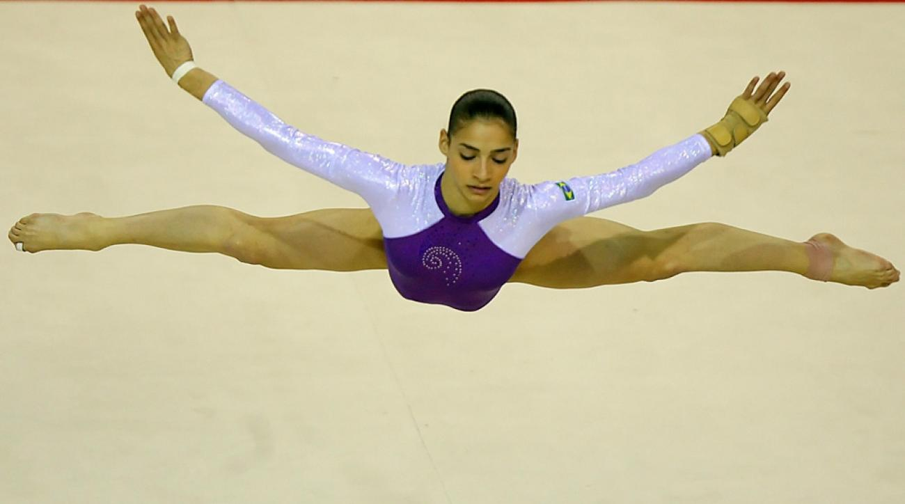 Brazilian Olympian Lais Souza originally planned to compete as a skier in Sochi before injuring herself.