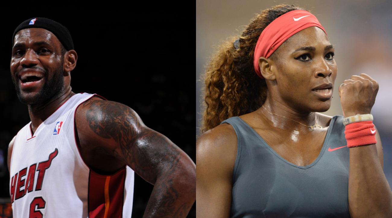 Serena Williams and LeBron James both embody the drive and fighting spirit that Sportsman of the Year calls for.