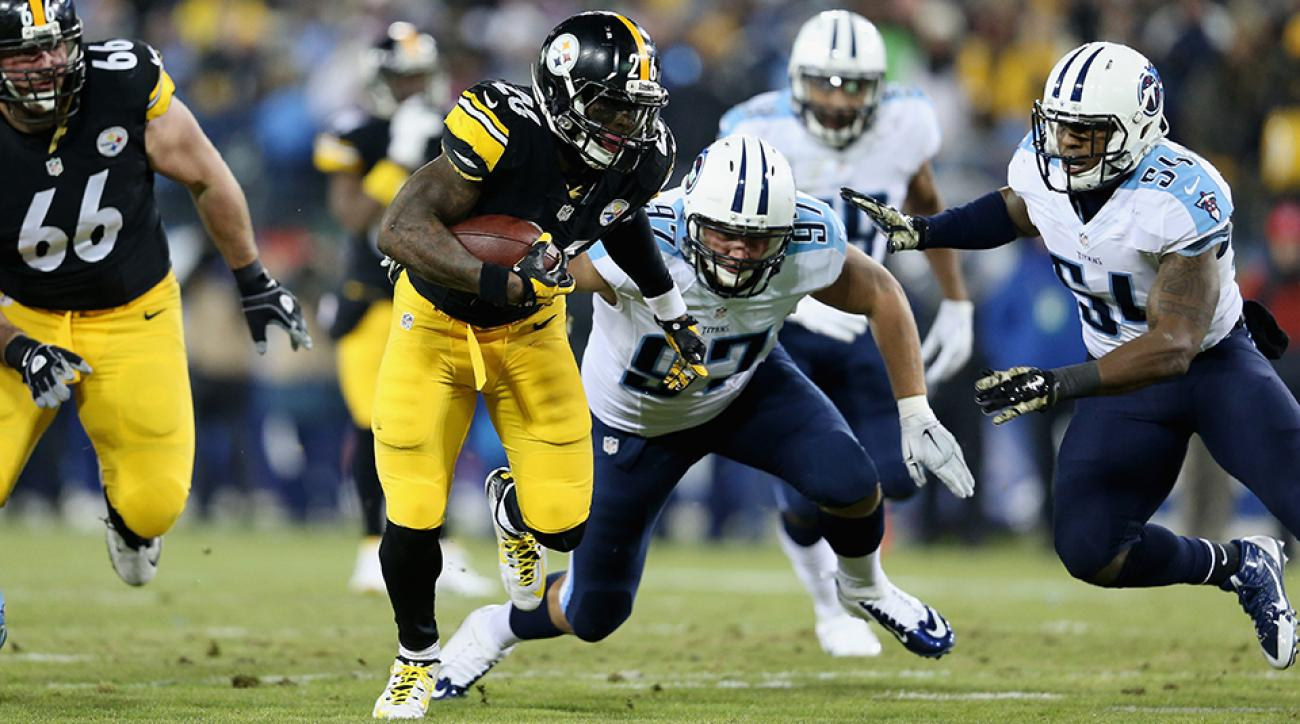 Steelers go old school, run over Titans to move to 7-4