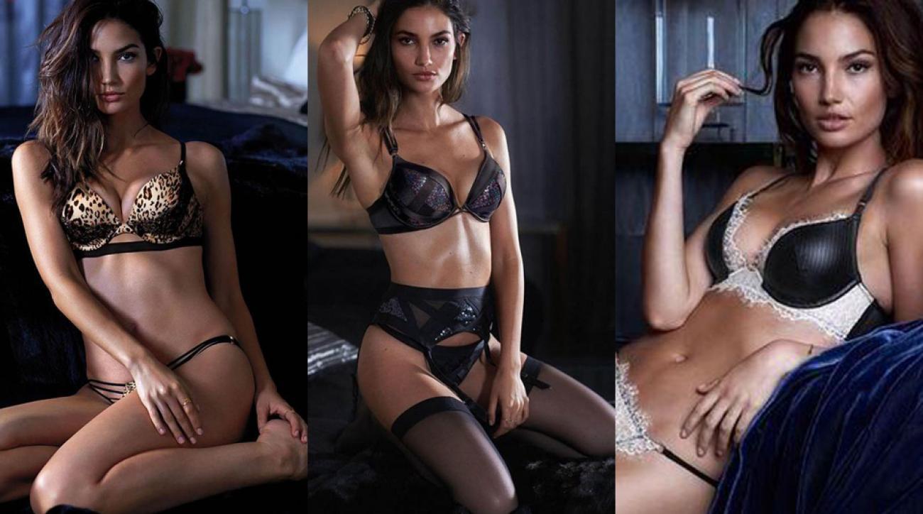 Lily Aldridge's latest for Victoria's Secret, and more news for your Monday Swim