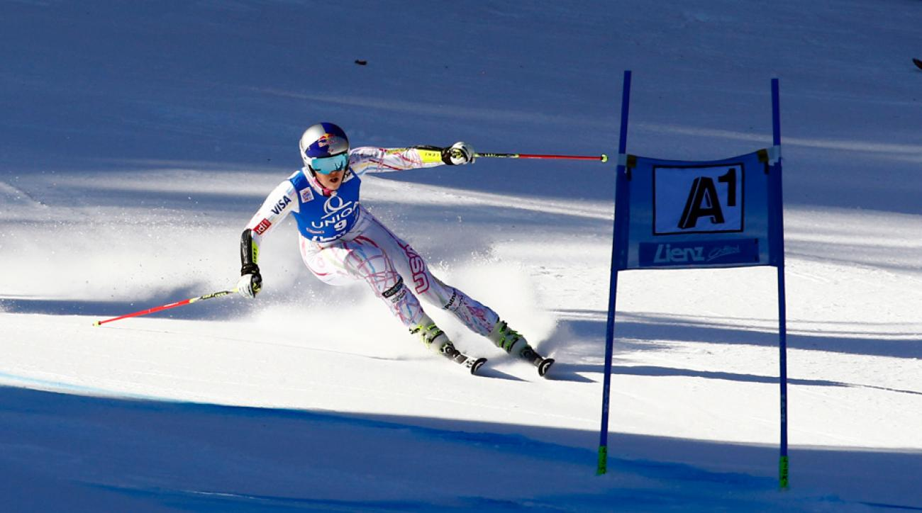Lindsay Vonn continues to chase World Cup points.
