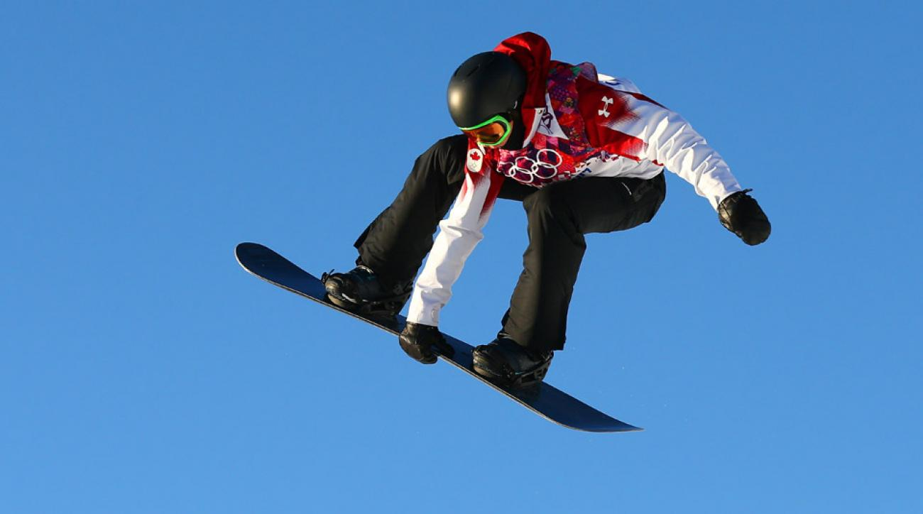 Mark McMorris finished third in the slopestyle semifinals posting a score of 89.25 on his second run.