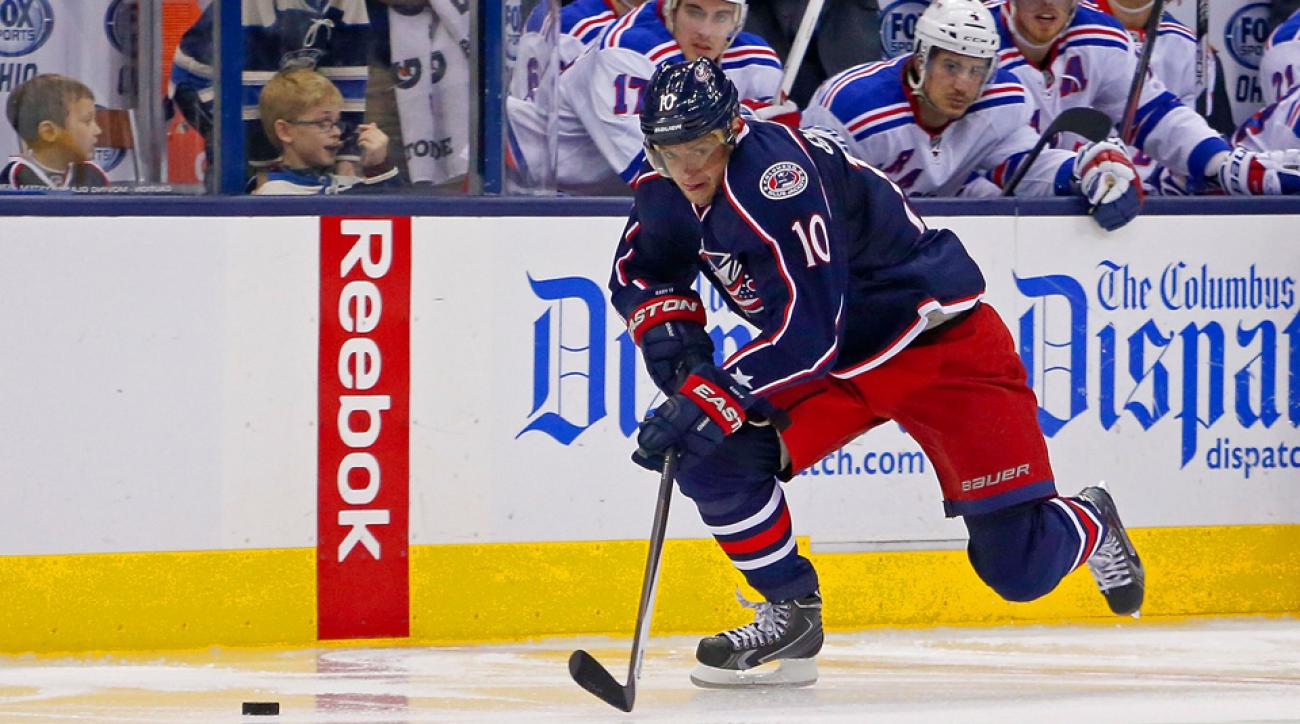 Marian Gaborik broke his collarbone in an NHL game in December and has not recovered in time to play for Slovakia in Sochi.