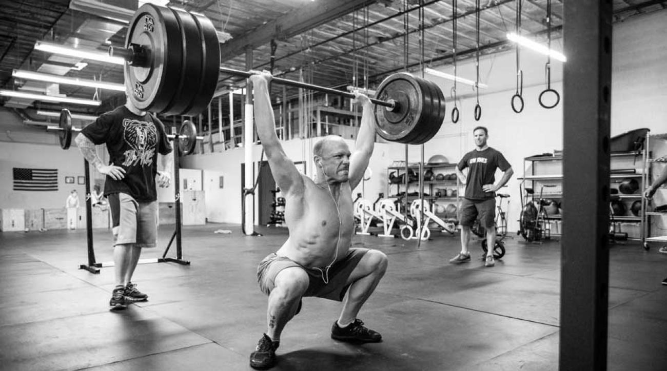 Bob MacDonald at Gym Jones