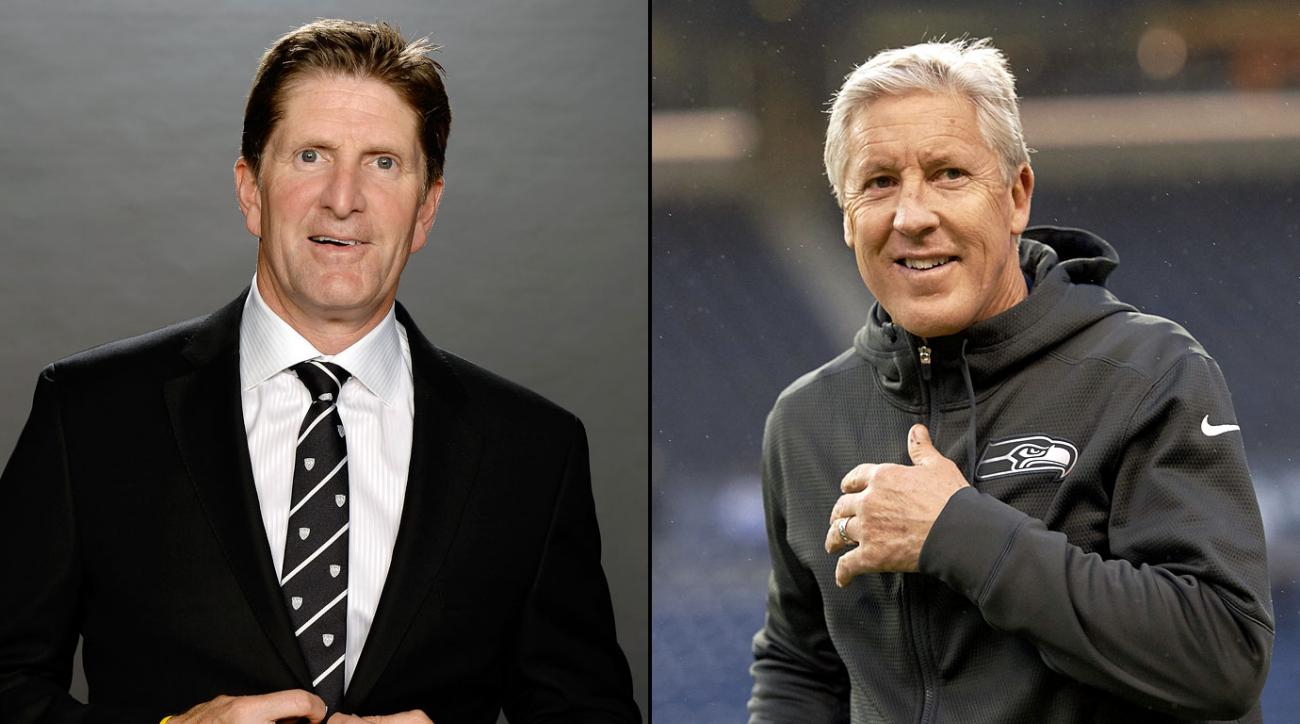 Babcock's new five-year deal with the Maple Leafs is reportedly front-loaded, making him the NHL's new No. 1 by a wide margin. In April 2014, Carroll signed an extension with the Seahawks through 2016 that was widely expected, by virtue of owner Paul Allen's deep pockets, to vault him over Saints head coach Sean Payton into the NFL's top spot although their respective salaries are reportedly the same.