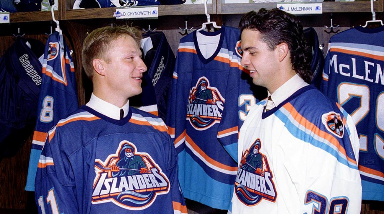 It could have been worse. They could have been inspired by another islander for the logo ... like maybe Gilligan.