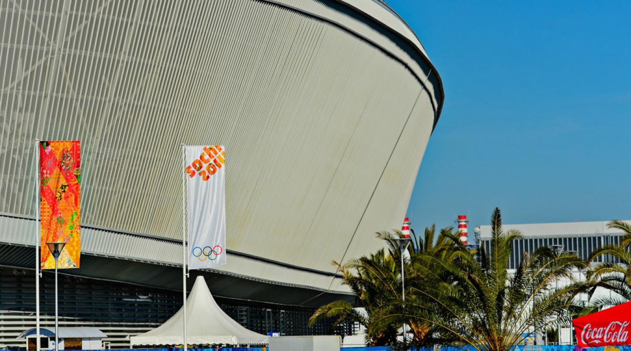 Sochi 2014 Winter Olympics: Day 5, Olympic Park Scene