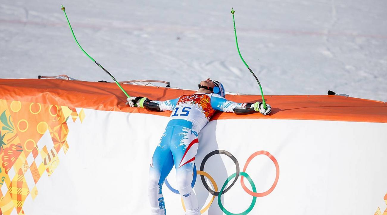 Austrian skier Otmar Striedinger led the second combined training session on Wednesday.