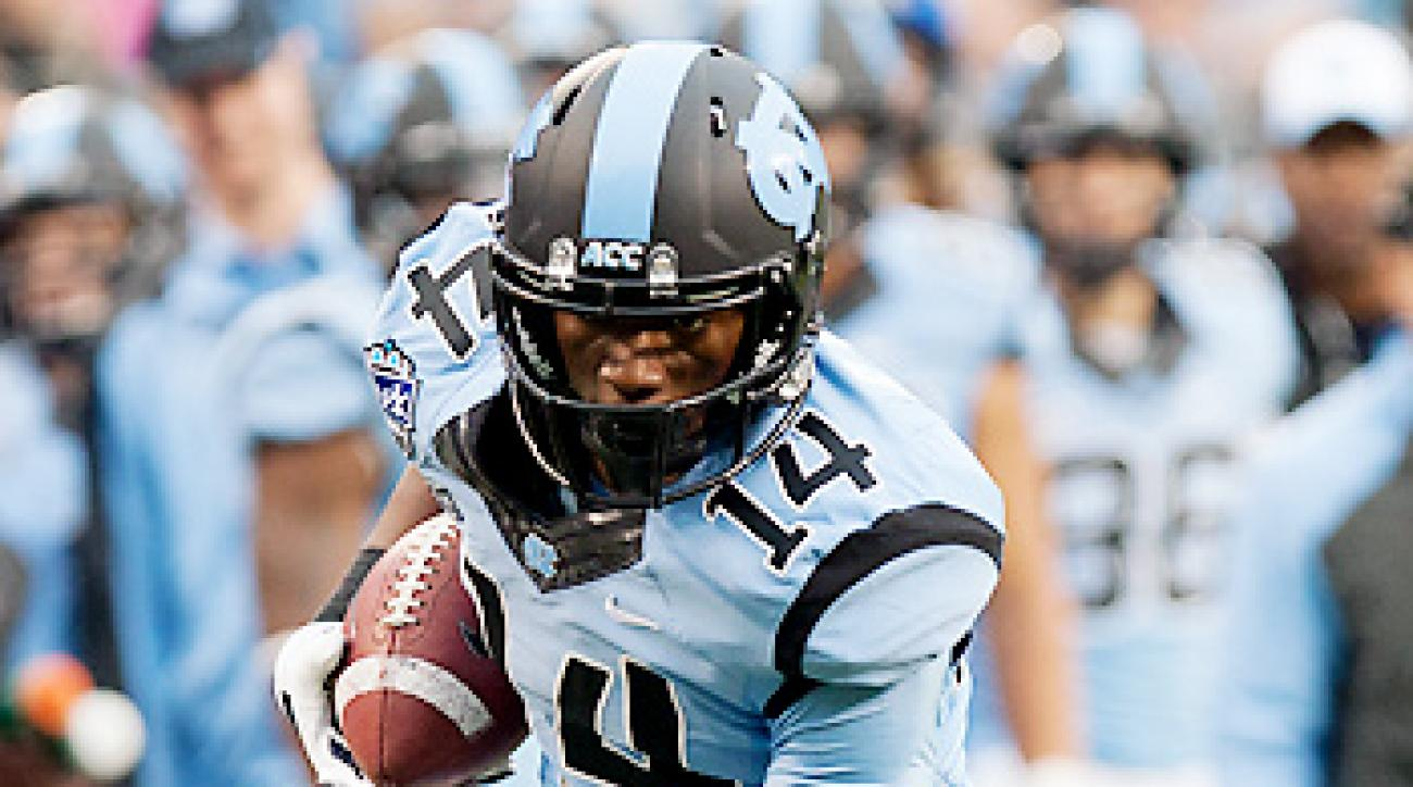 Quinshad Davis could become the top target in North Carolina's offense following tight end Eric Ebron's departure for the 2014 NFL draft.